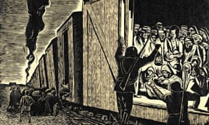 Deportation to Death (Death Train) by Leopoldo Mendez