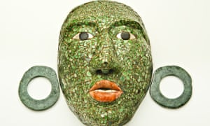 Funerary mask from Mexico