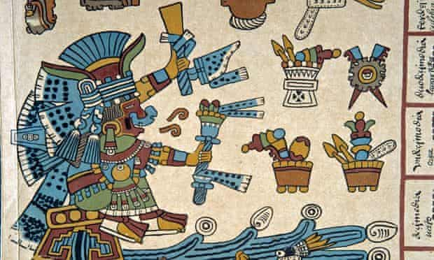 Detail from the Codex Borbonicus