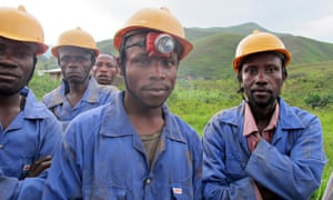 miners in Congo
