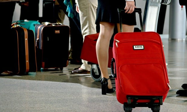 Green light or red? Where airport luggage goes on its voyage of ...