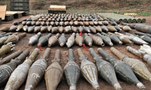 Rockets seized in Bangui
