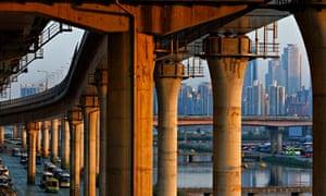 Highway interchange in Seoul