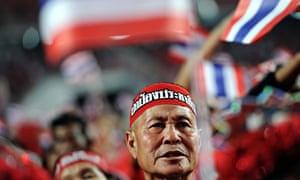 Redshirt supporter Thailand