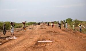 Civilians flee from renewed attacks in Bentiu
