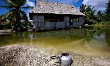 Kiribati - abandoned house