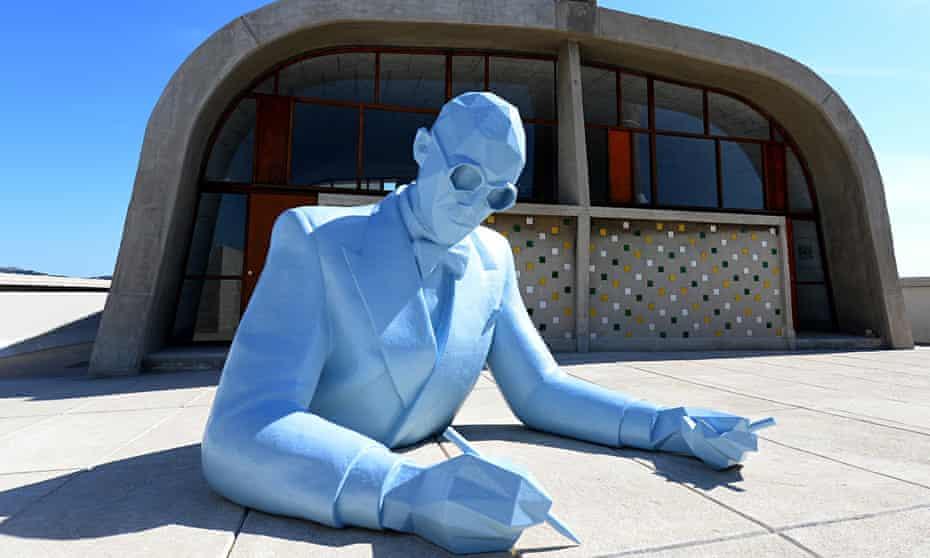 Xavier Veilhan's Le Corbusier (Bust)