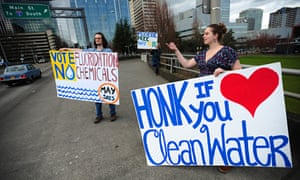 Portland fluoridation protest