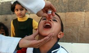 Yemen polio vaccine