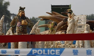 China confiscated ivory