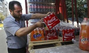 Iran Coca Cola seller