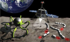 Entries to Google's Lunar X prize