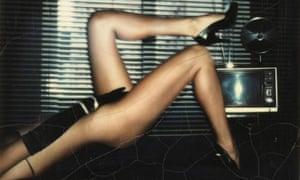 Nude in Pumps by Helmut Newton