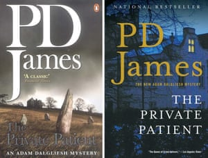 PD James book covers