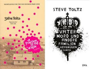 Steve Toltz book covers