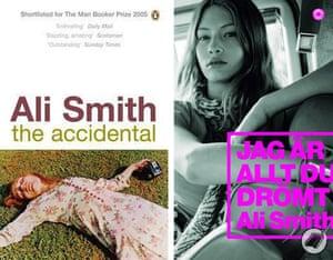 Ali Smith book covers