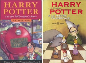 JK Rowling book covers