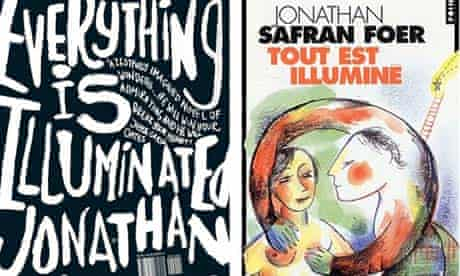 Jonathan Safran Foer book covers
