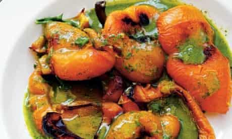 Nigel Slater's baked peppers