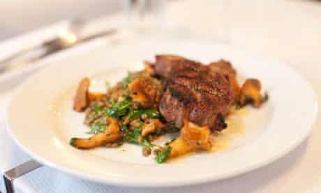 Trullo Restaurant's Dorset Lamb Rump