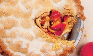 Nigel Slater's peach pie