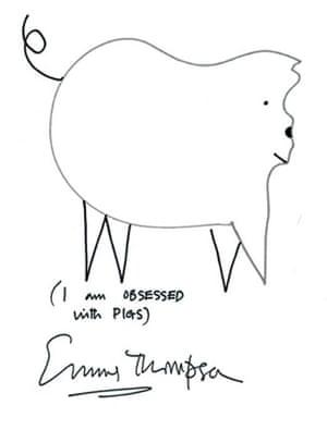 Emma Thompson's shape game