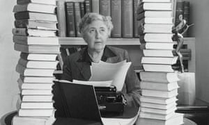 Author Agatha Christie