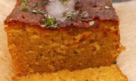 Nigel Slater's thyme and lemon cake
