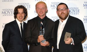 Edgar Wright, Simon Pegg and Nick Frost