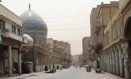 Bab al-Sharqi district of Baghdad