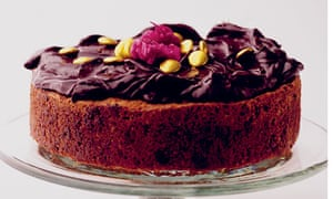 Nigel Slater Hazelnut Chocolate Cake