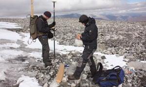 Norwegian archaeologists