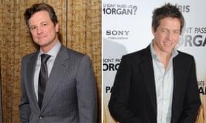 Hugh Grant and Colin Firth composite