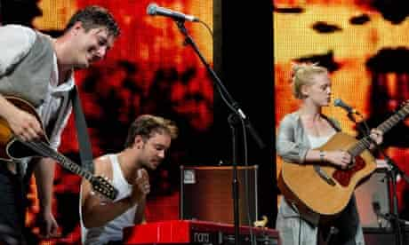 Laura Marling with MUMFORD & SONS