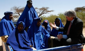 Andrew Mitchell in Somaliland