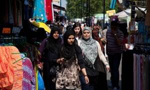Muslim community in Whitechapel