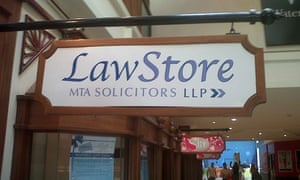 2a0b3e9a777 The LawStore, in the Glades shopping centre in Bromley, Kent, is an example  of the new legal retail outlets that aim to bring the lawyer to the  consumer.