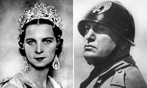 Queen and Mussolini