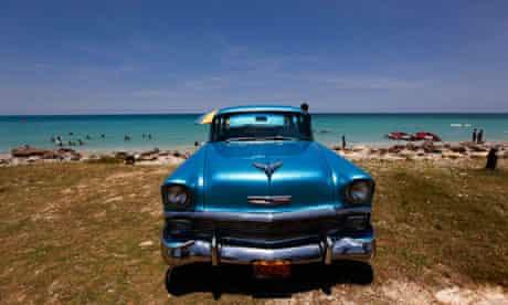 A 1956 Chevrolet car in Cuba