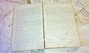 Cumbrian auction of Wainwright's notebook