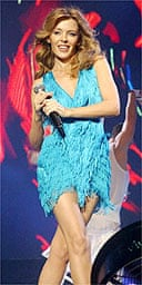 Kylie Minogue at the Smash Hits Poll Winners Party