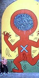 Keith Haring - one of the 10 Commandments