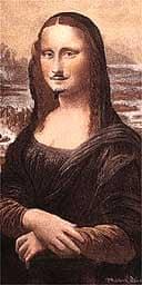 LHOOQ, Duchamp