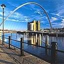 Gateshead millennium bridge