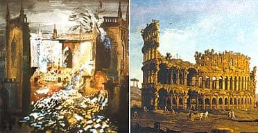 John Piper & Bernardo Bellotto Ruins