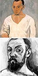 Picasso / Matisse self-portraits