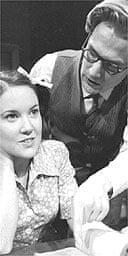 Jo Theaker (Pamela) and Martin Hutson (Walter) in Five Finger Exercise