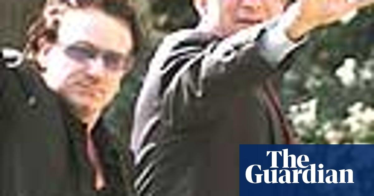 How Bono wooed Washington | US news | The Guardian