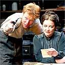Jochum Ten Haaf and Clare Higgins in Vincent In Brixton