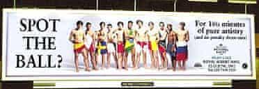 English National Ballet ad